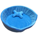 Petnap Blue Oval Heated Cat Bed £34.99