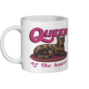 Queen of the House Ceramic Mug