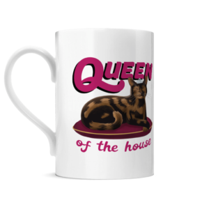 Queen of the House Porcelain Mug